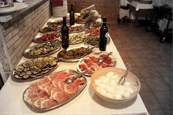 buffet specialità campane