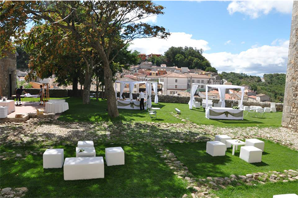 spazio esterno per cerimonie