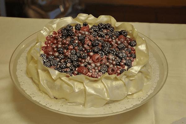 torta ai frutti di bosca