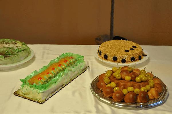 buffet di dolci e torte
