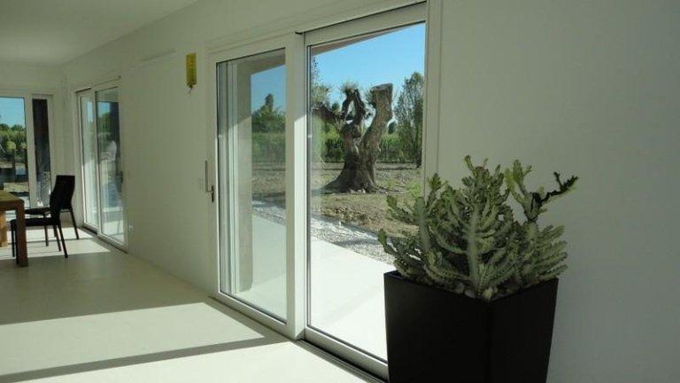 porta finestra correvole in alluminio a taglio termico