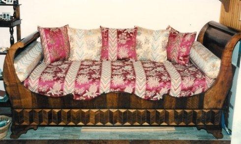 divano, divano imbottito, divano a due posti