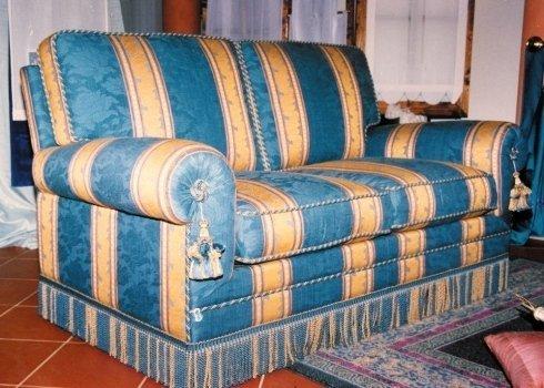 divano, divano letto. divano foderato