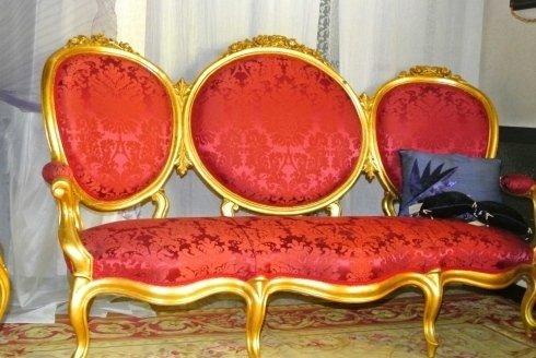 divano in stile classico, divani, arredi in stile classico