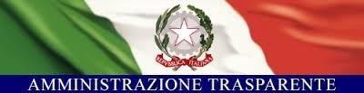 Logo amministrazione repubblica italiana trasparente