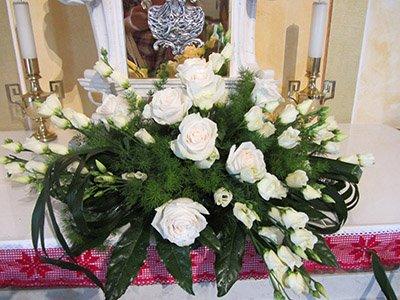 mazzo di fiori a Marostica
