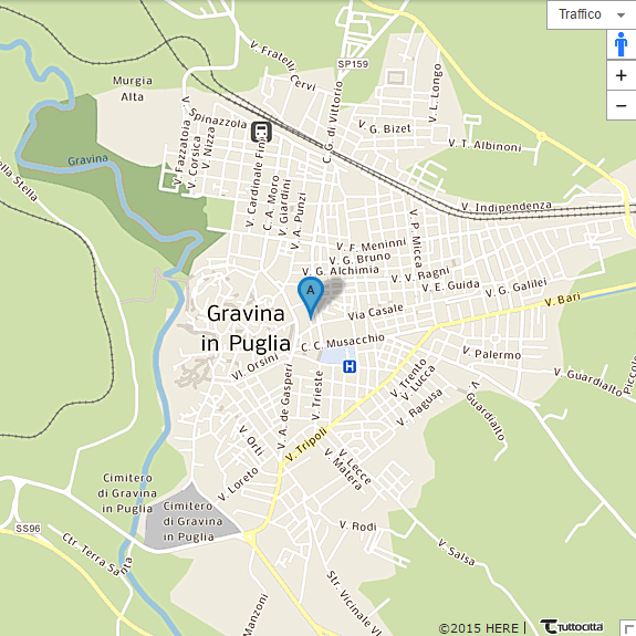Mappa Gravina in Puglia (BA)
