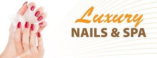 logo luxury Nails & Spa