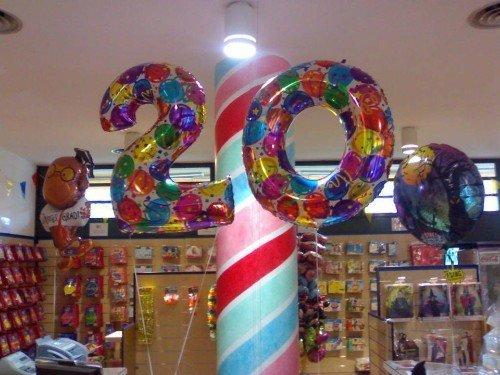 palloncino a forma di 20