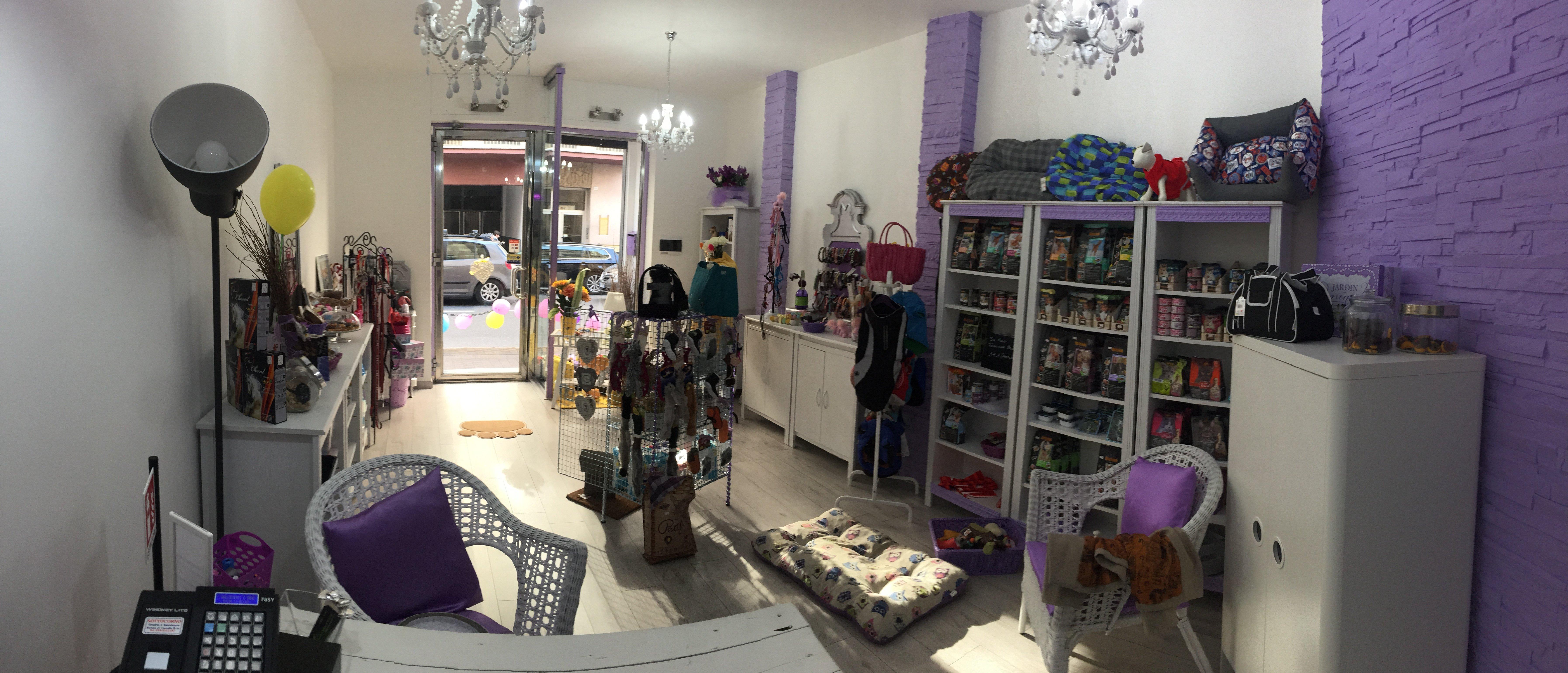 vista interna del negozio