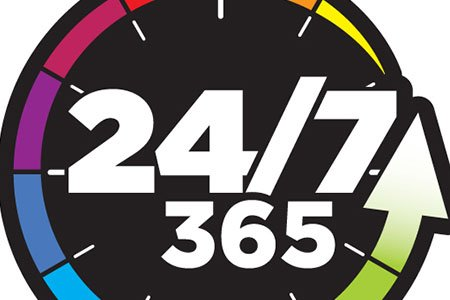 logo 24/7 365