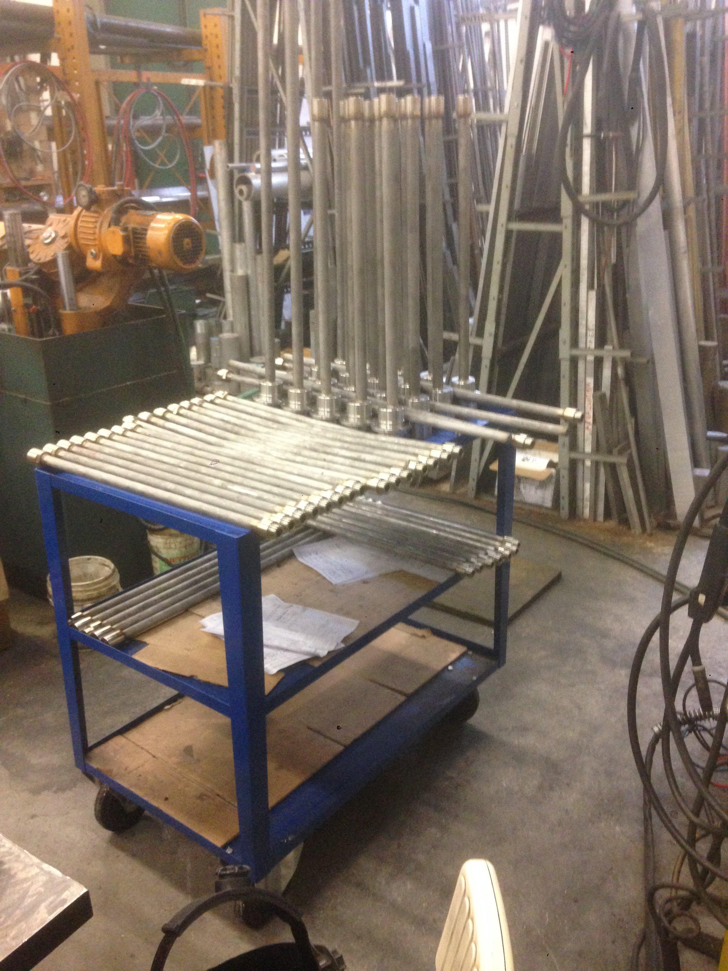barre di ferro di idiverse dimensioni