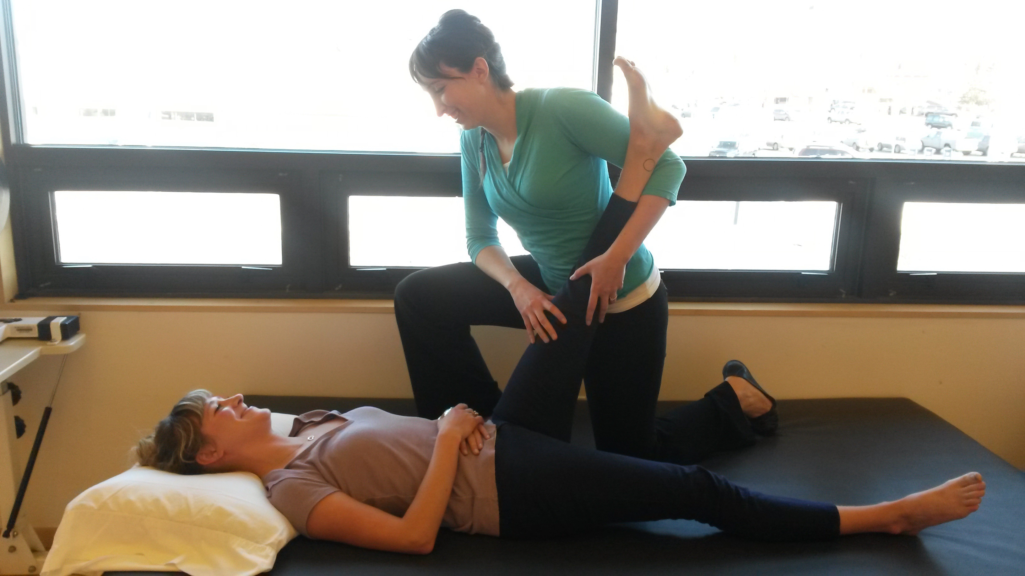 Image of injury rehabilitation in Eagle River, AK