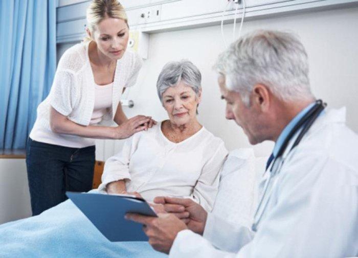 assistenza medica in ospedale