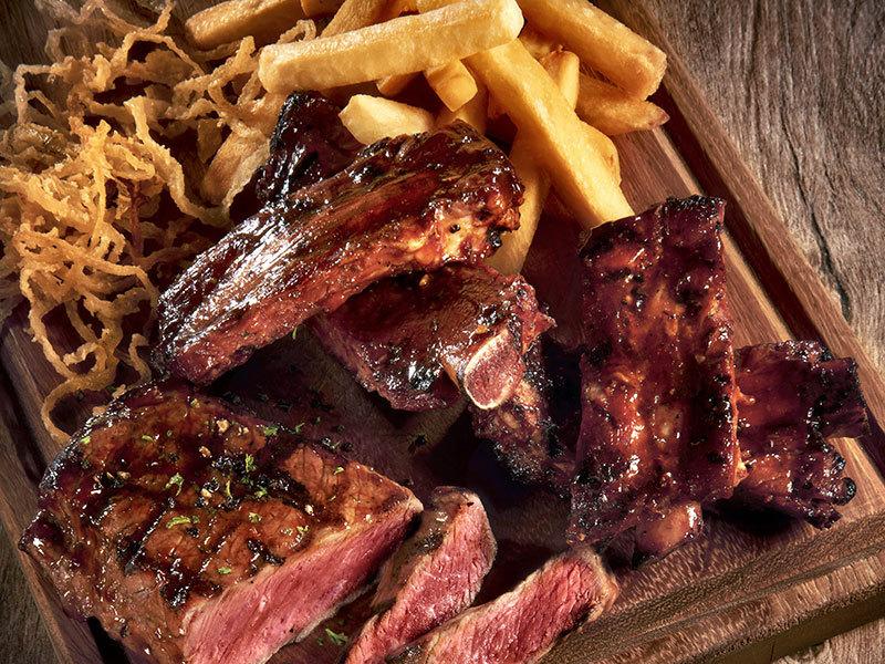Ribs & Steak turn 'n tender