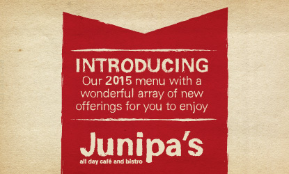 junipa new menu