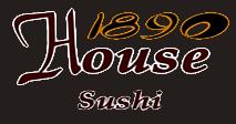 1890 House Sushi Logo