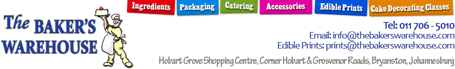 The bakery warehouse logo