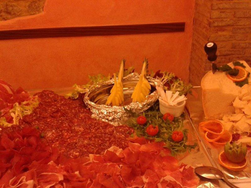 carne tagliate con verdure