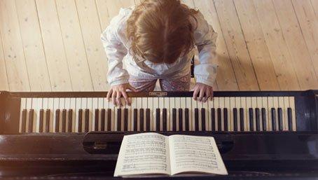 skilled pianist
