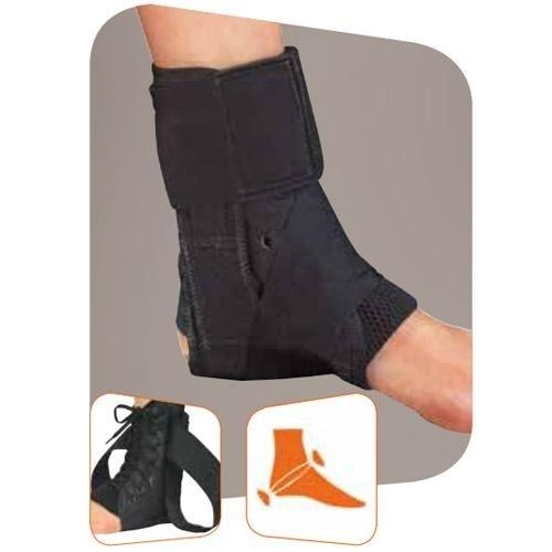 cavigliera con tiranti e rinforzi laterali