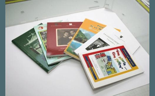 stampa di copertine