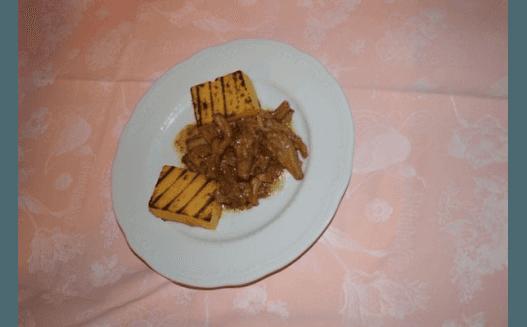 finferli con polenta