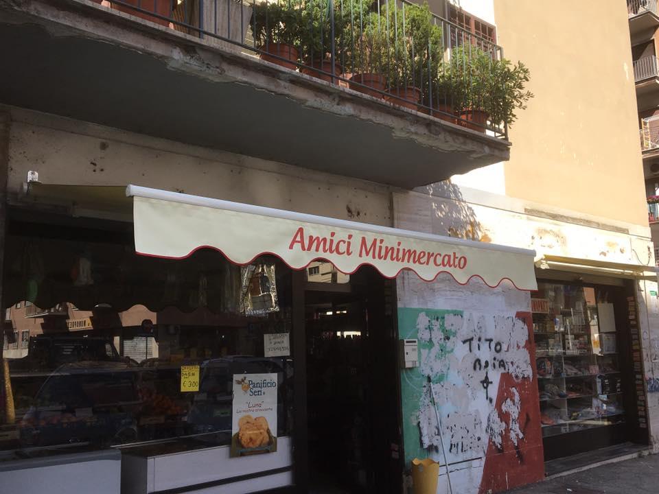 espositore AMICI MINIMERCATO