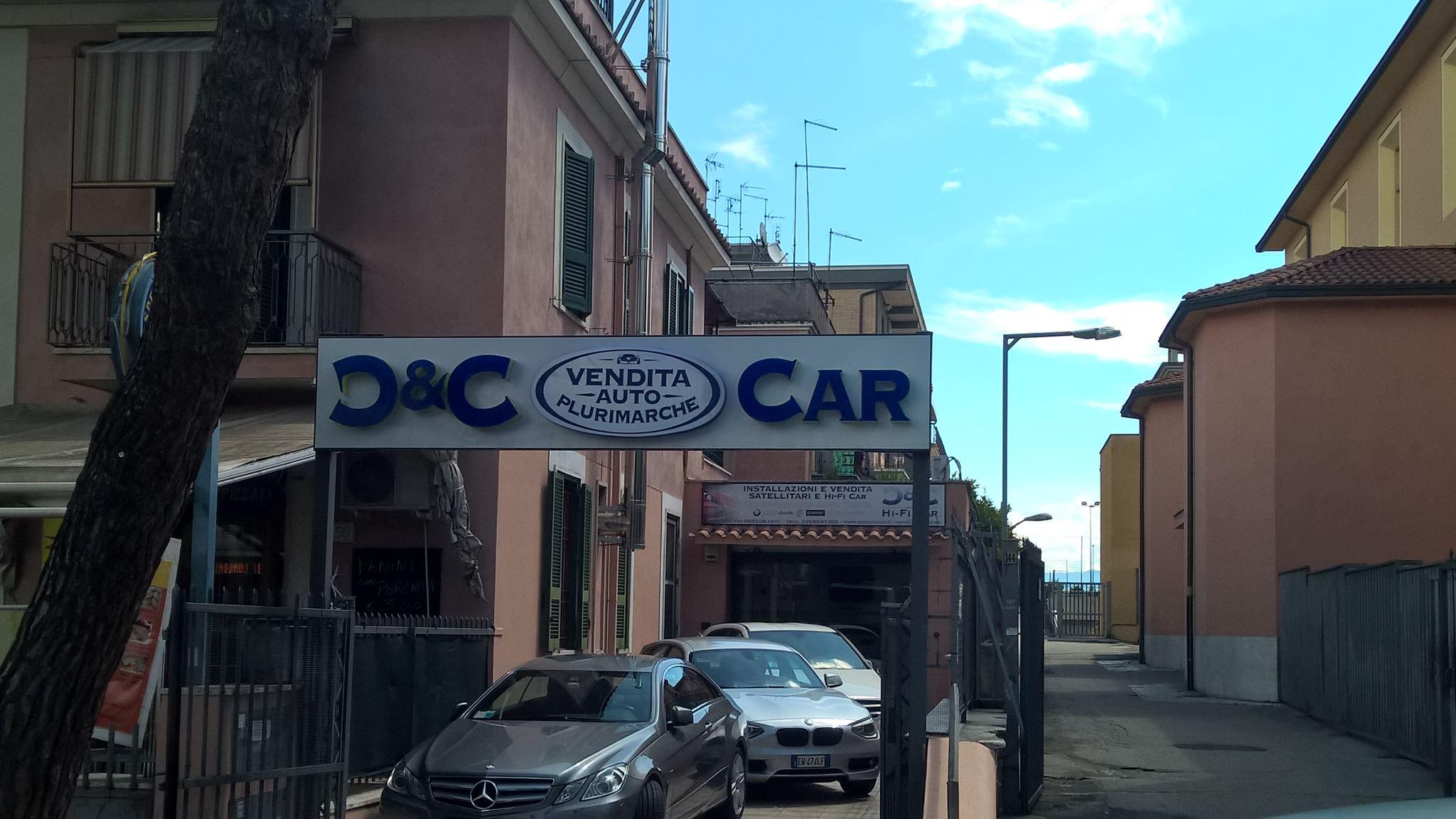 striscione D&C CAR