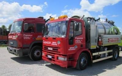 camion per interventi di pulizia e spurgo