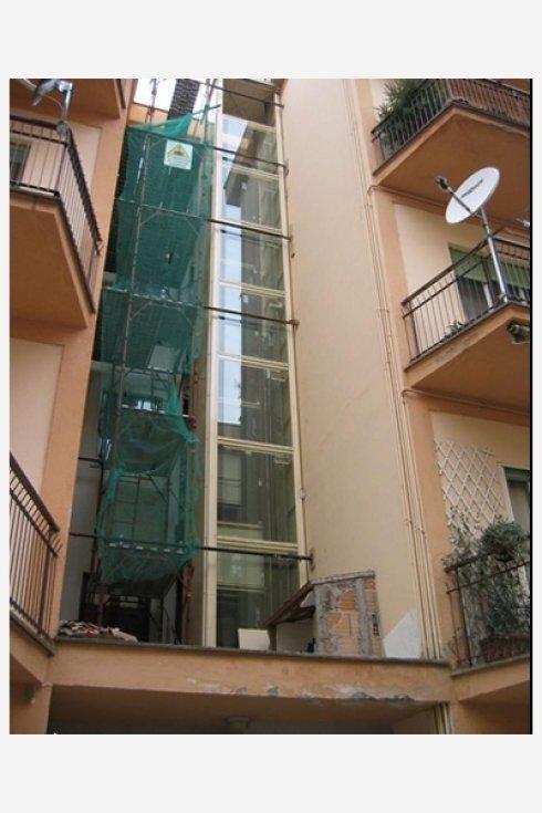 ascensore alimentazione elettrica