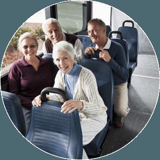 Servizio navetta e transfer anziani