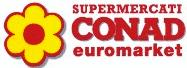 CONAD EUROMARKET - MERCATO COPERTO - LOGO