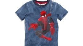 maglietta spiderman