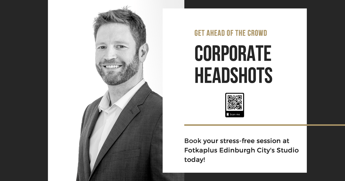 Corporate headshots to get ahead of the crowd