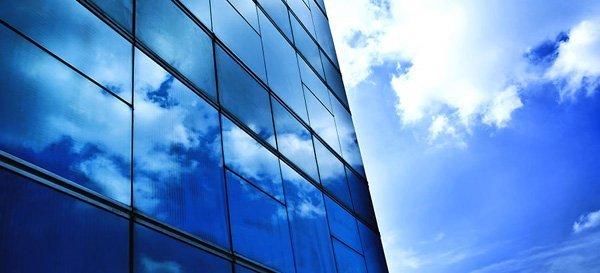 vetrina grattacielo