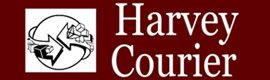 harvey courier service logo