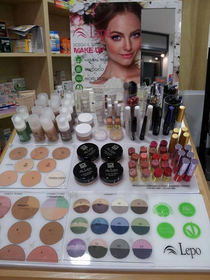 dermocosmesi e make-up bio