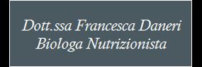 Francesca Deneri Biologa Nutrizionista
