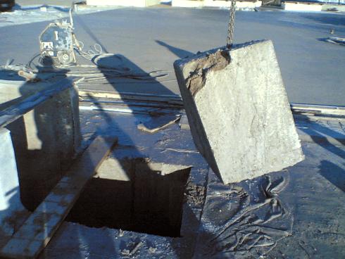Vuoi creare un sezionamento di un manufatto in cemento? Affida a noi la realizzazione.
