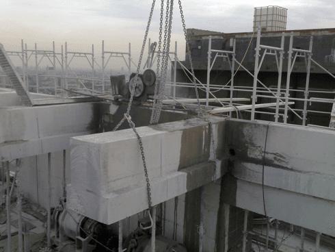 Contattaci per il taglio con filo di strutture portanti.