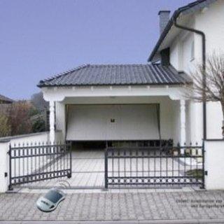 Automazione porte garage basculanti