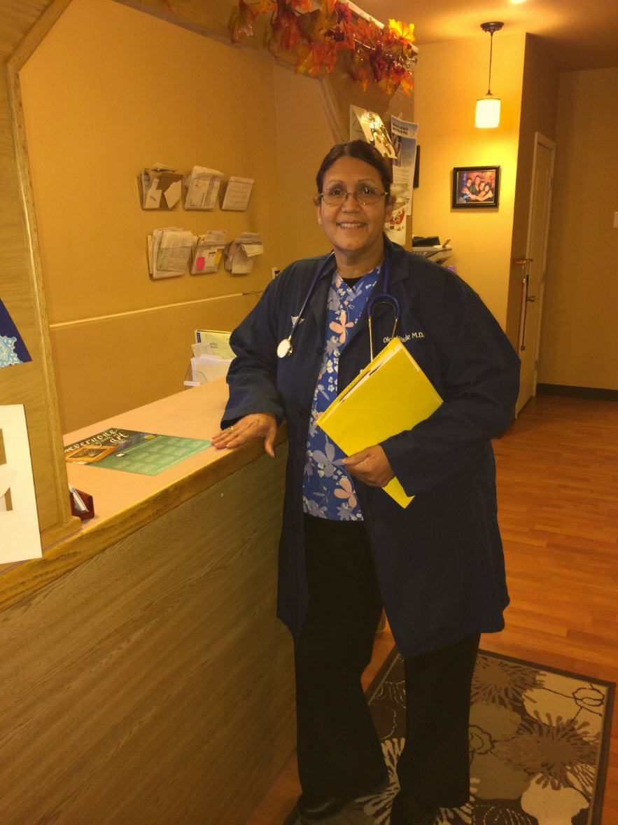 Doctor performing CDL physicals in Chugiak, AK