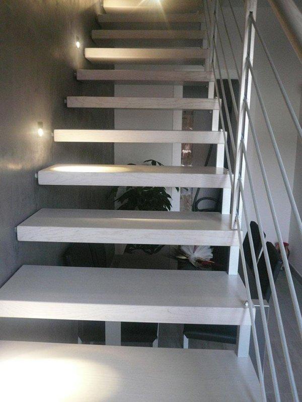 Produzione Scale Moderne su misura in Acciaio, Acciaio Inox, Legno, Vetro e Ferro