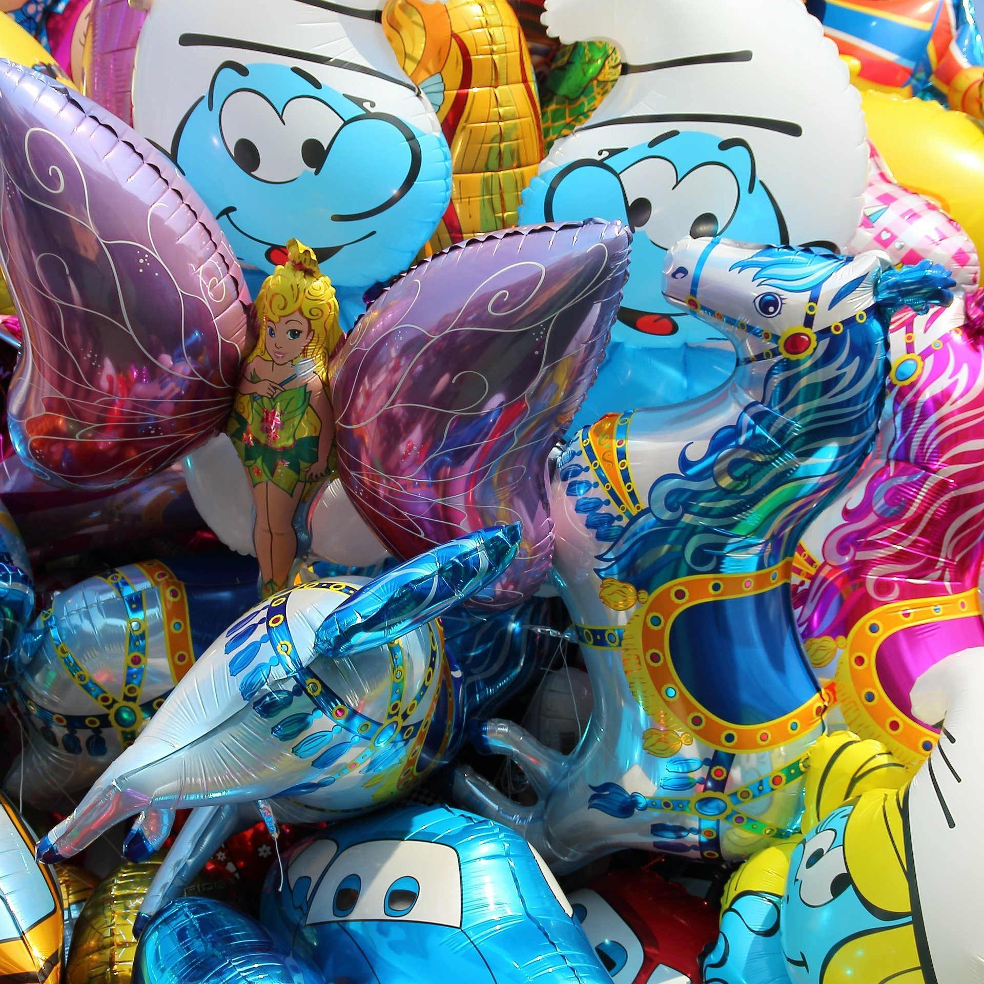 Balloons for bithdays, anniversary, special events, corporate parties