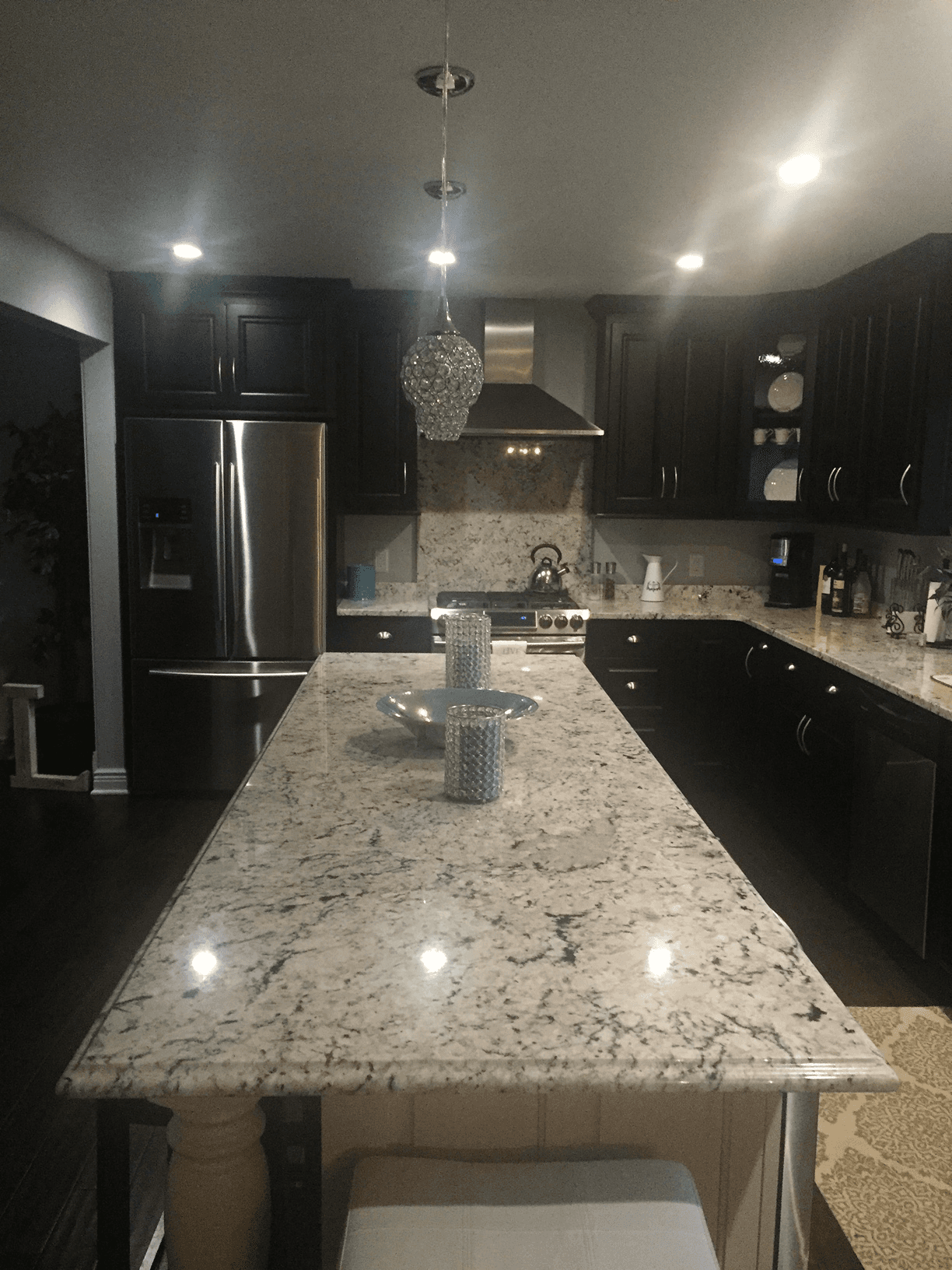 Full Height Backsplash Kitchen Countertops Buffalo Granite And Marble
