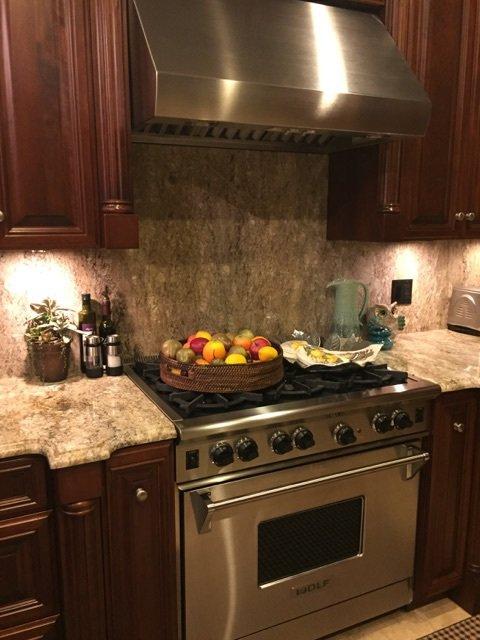 Full Height Backsplash Kitchen Countertops Buffalo Granite and ...