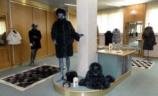vendita di capi in pelliccia