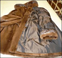 pellicce in visone
