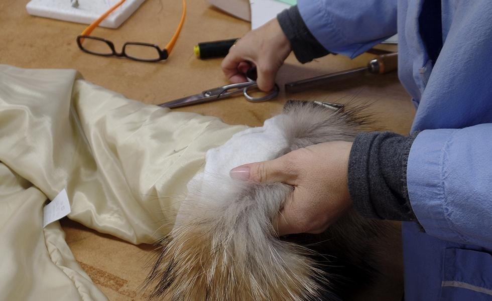 commercio di pellicce
